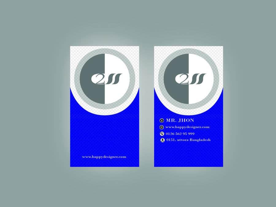 Конкурсная заявка №210 для Business card design
