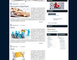 #6 for Wordpress Theme Design for blog of Email Marketing af datagrabbers