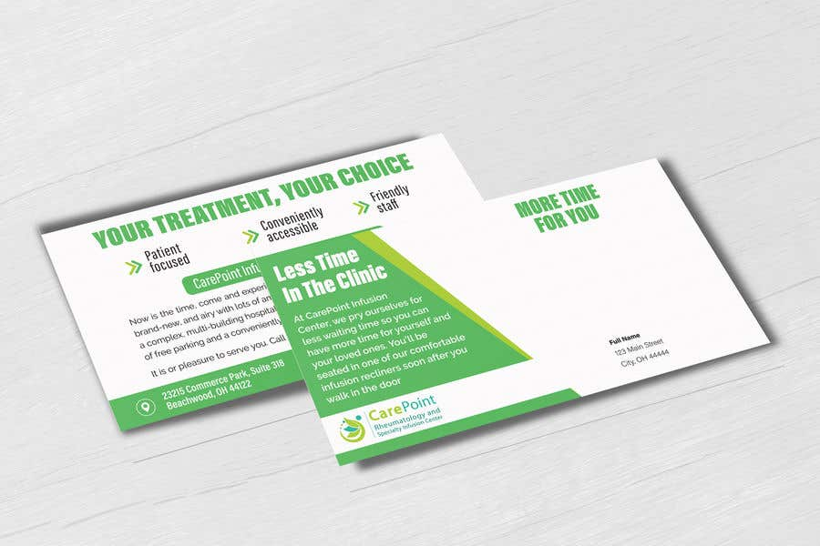 """Proposition n°3 du concours Design postcard for marketing 6""""x11"""" in"""