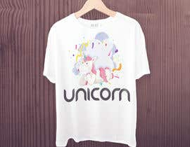 Nro 5 kilpailuun I need an original design for a unicorn themed t-shirt. It can be for kids or adults. It can be funny or serious...it's up to you. käyttäjältä sparkshahadot000