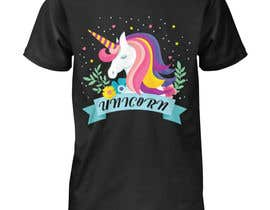 #52 for I need an original design for a unicorn themed t-shirt. It can be for kids or adults. It can be funny or serious...it's up to you. af Shakilmirza5021
