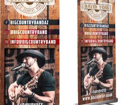 nº 2 pour Vertical Banner Signage for Country Band par b3ast61