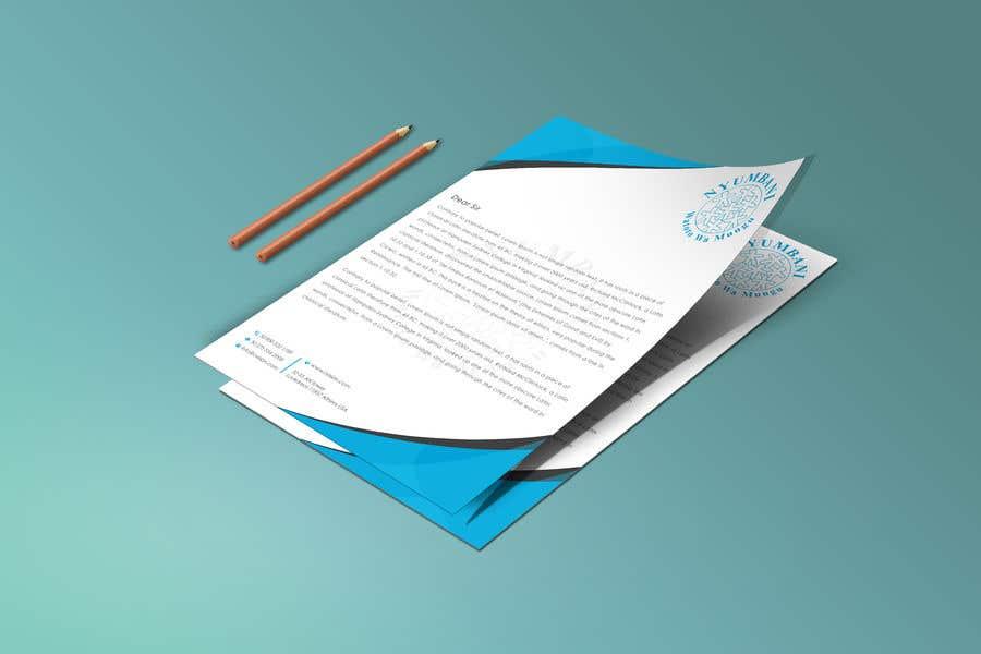 Penyertaan Peraduan #396 untuk design letterhead