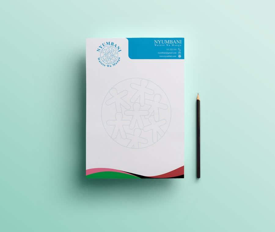 Penyertaan Peraduan #392 untuk design letterhead