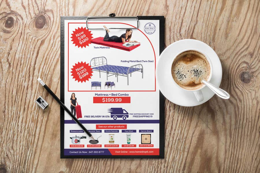 Proposition n°46 du concours Build me a Product Flyer