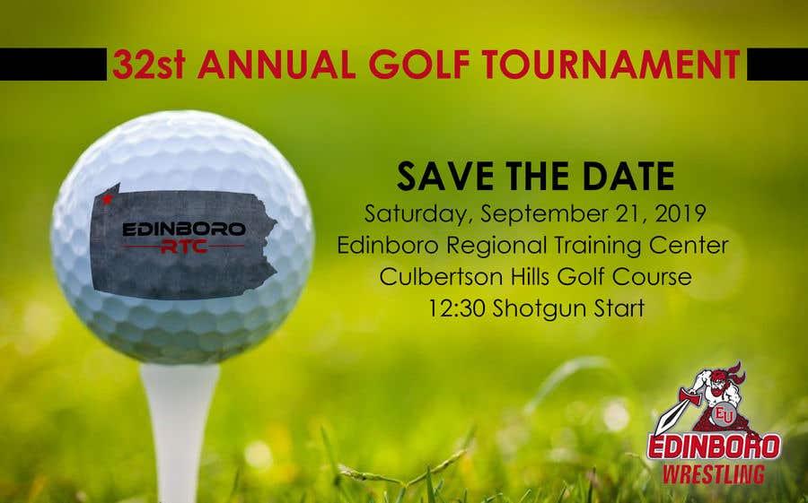 """Intrarea #3 pentru concursul """"Save The Date ERTC Golf Outing"""""""