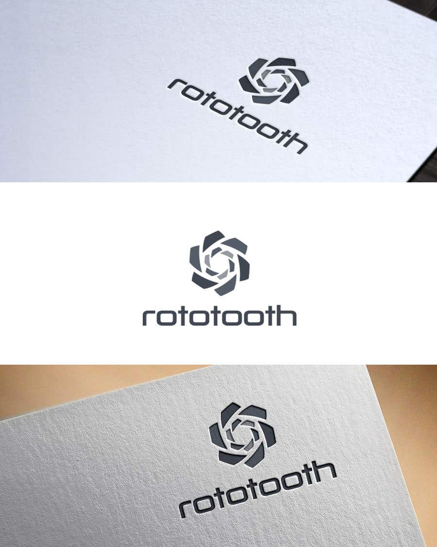 Proposition n°212 du concours Design a Modern Logo for my Product Rototooth