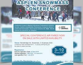 nº 45 pour Ski Conference Flyer par forhaad
