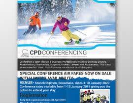 nº 42 pour Ski Conference Flyer par sujonyahoo007
