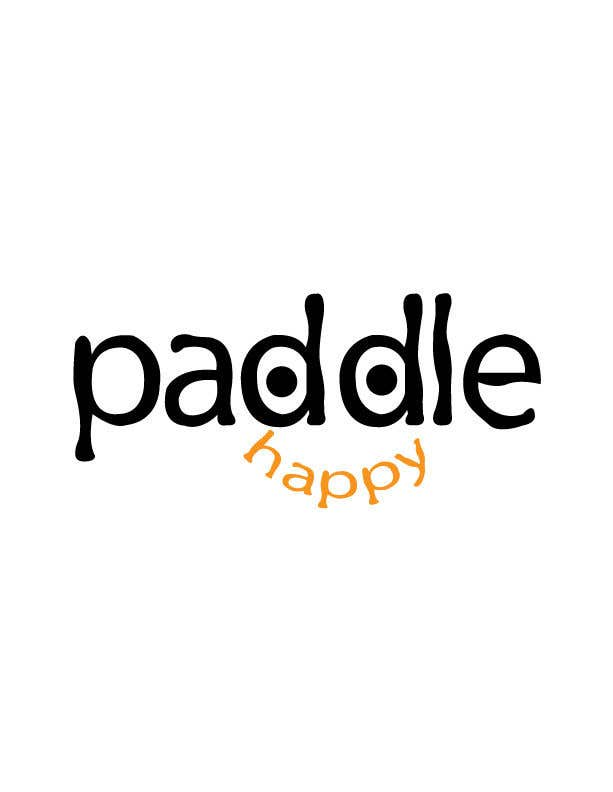 "Contest Entry #48 for I need a logo fun and outdoorsy something both male and females would like to wear on cap, etc my sports brand name ""Paddle Happy"""