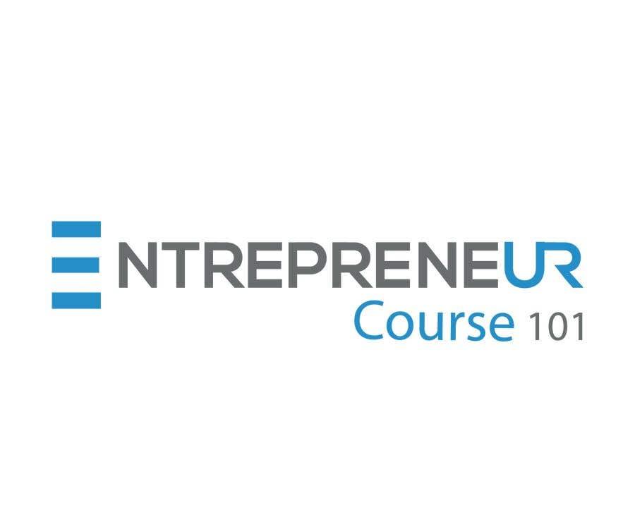 """Inscrição nº 16 do Concurso para Logo Design For """"Entrepreneur Course 101"""""""