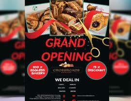 #41 for Need a flyer for a new opening of a Bakery outlet by designarena17