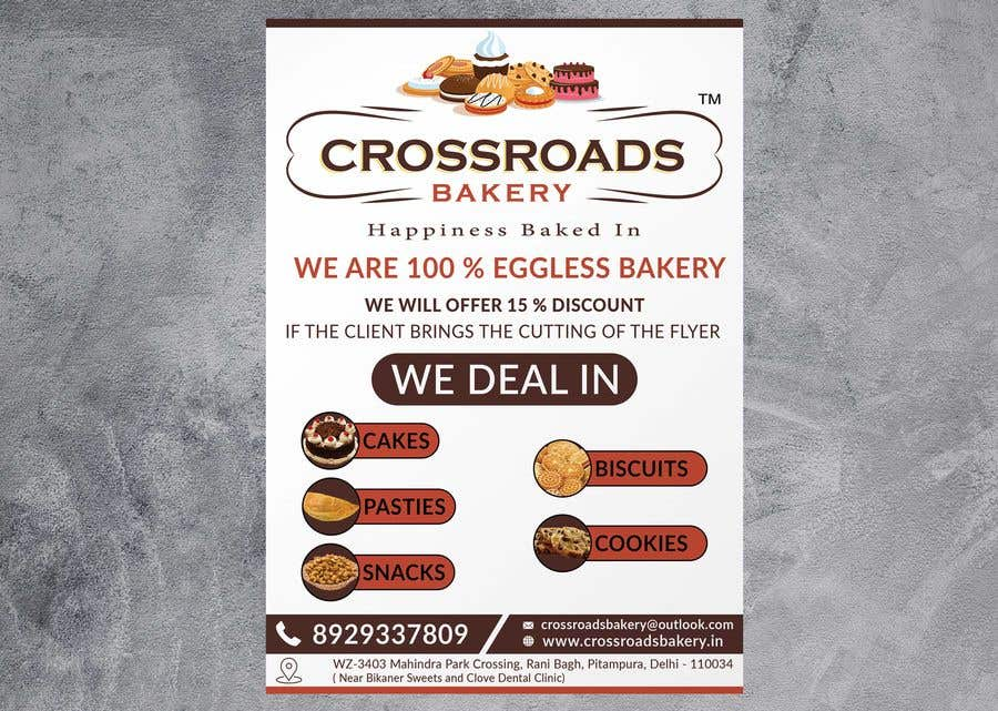 Конкурсная заявка №18 для Need a flyer for a new opening of a Bakery outlet