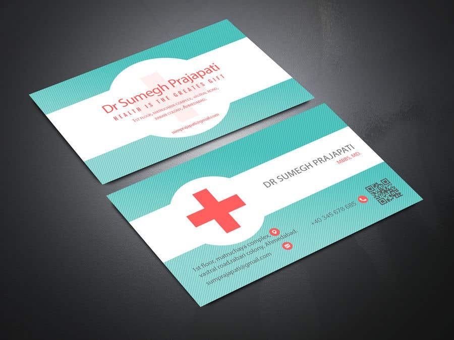 Proposition n°124 du concours Bussiness Card Design (Medical)