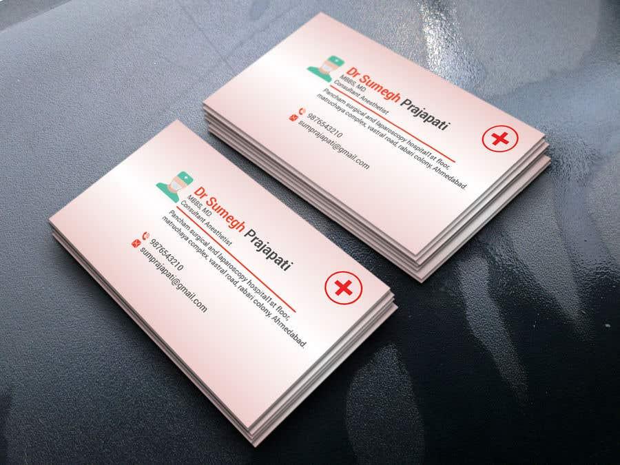 Proposition n°190 du concours Bussiness Card Design (Medical)