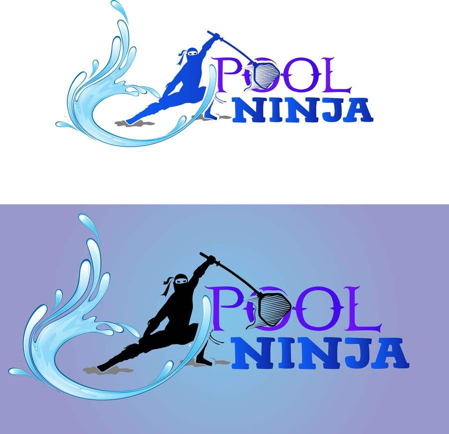 Contest Entry #74 for Design a Business logo - Pool Ninja