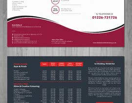 #11 for Design a price list by cmchoton