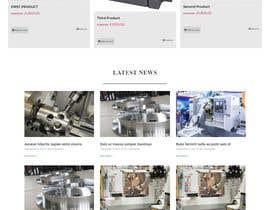 nº 11 pour Wordpress website for machinery business par habib928