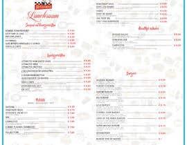 #13 for Design a menu based on the current developed website design by archanduarah92