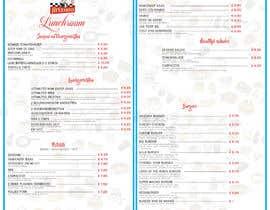 #14 for Design a menu based on the current developed website design by archanduarah92