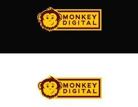 #61 untuk Create a logo for Monkey Digital oleh MDavidM