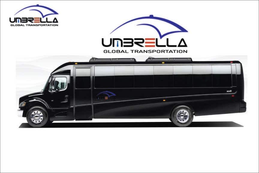 Penyertaan Peraduan #649 untuk Develop Corporate Identity Charter Bus Shuttle Company