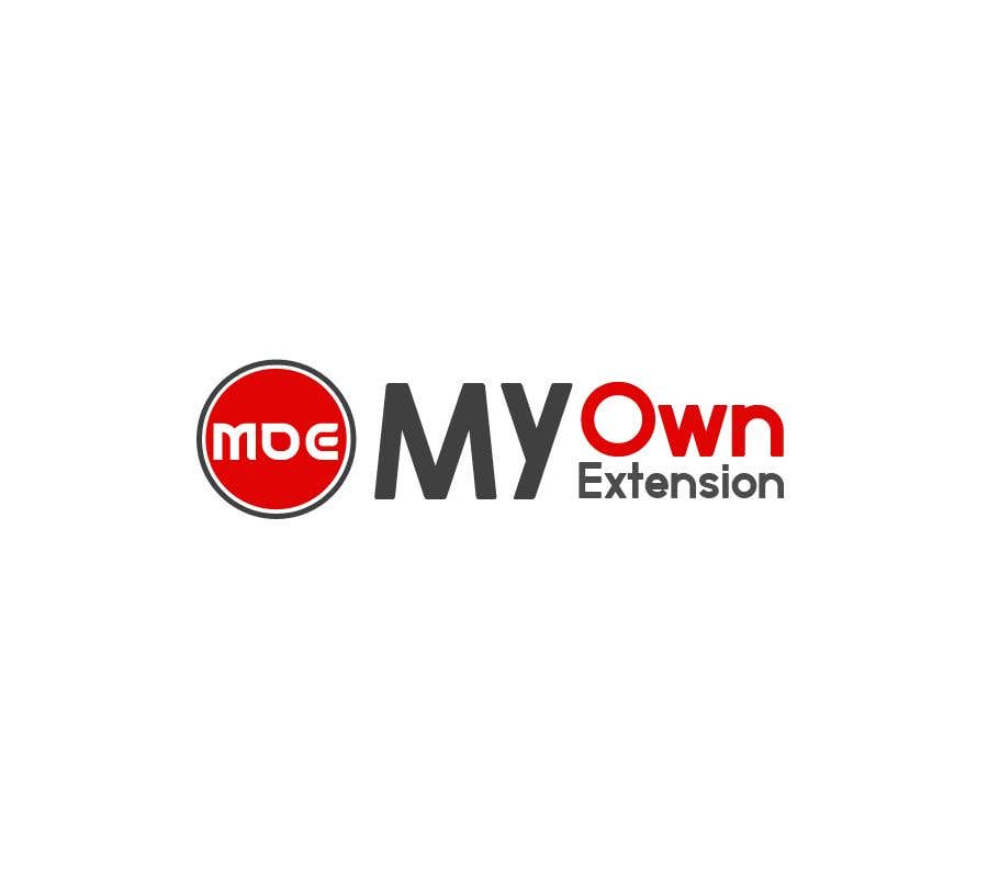 "Contest Entry #16 for Create a Logo For ""My Own Extension"" word"