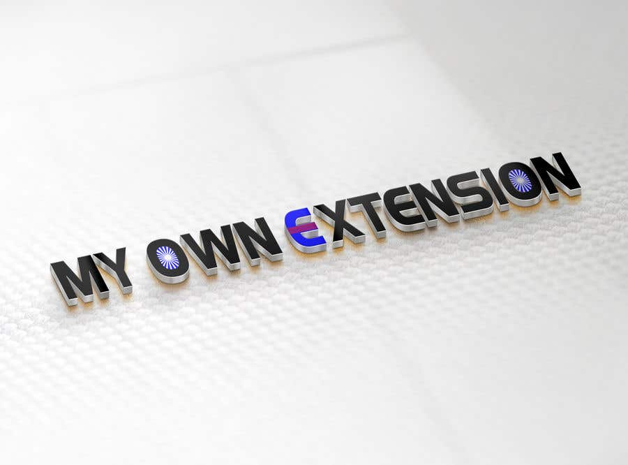 "Contest Entry #18 for Create a Logo For ""My Own Extension"" word"