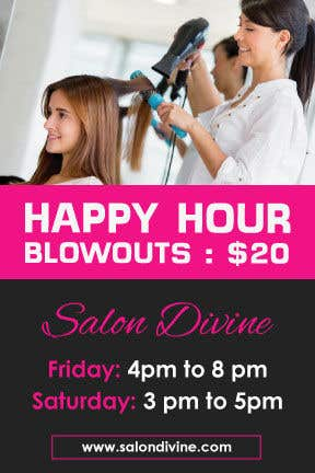 Contest Entry #11 for marketing materials for salon