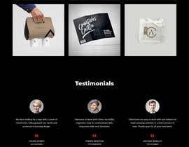 Nro 44 kilpailuun Dark design for personal website käyttäjältä sakaet