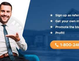 """nº 40 pour Need website banner for """"Real Estate Agent Referral Program"""" par abuk007"""