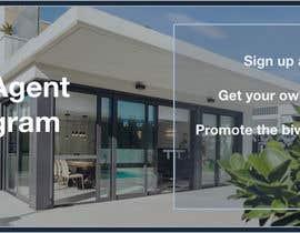 """nº 14 pour Need website banner for """"Real Estate Agent Referral Program"""" par Darya5669"""