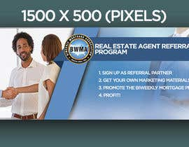 "Nro 12 kilpailuun Need website banner for ""Real Estate Agent Referral Program"" käyttäjältä GFXMENTOR"