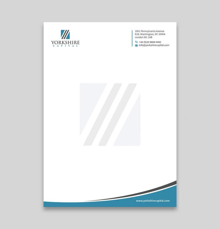 Konkurrenceindlæg #186 for Design a letterhead