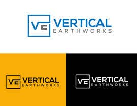 #137 untuk Updated LOGO for Construction Company - VERTICAL EARTHWORKS oleh creaMuna