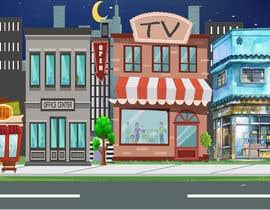 #13 untuk I need a 2D city background oleh panjamon