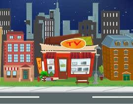 #16 untuk I need a 2D city background oleh panjamon