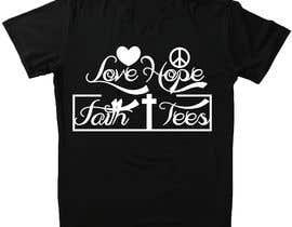 khalilBD2018 tarafından Simple logo for a T-shirt business. Love Hope and Faith Tees için no 62