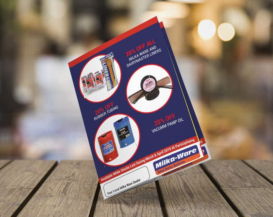 """Intrarea #29 pentru concursul """"2019 consumables promotion printed flyer"""""""