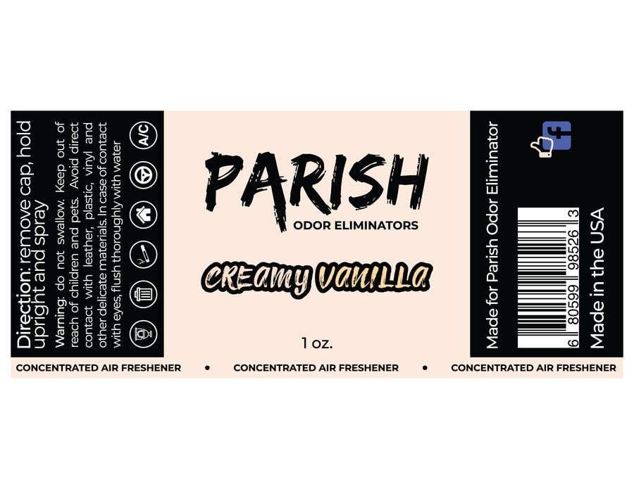 Penyertaan Peraduan #30 untuk new fresh air label design