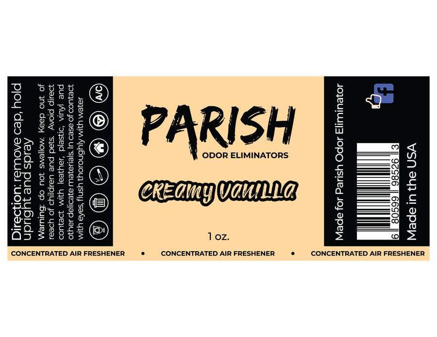 Penyertaan Peraduan #35 untuk new fresh air label design