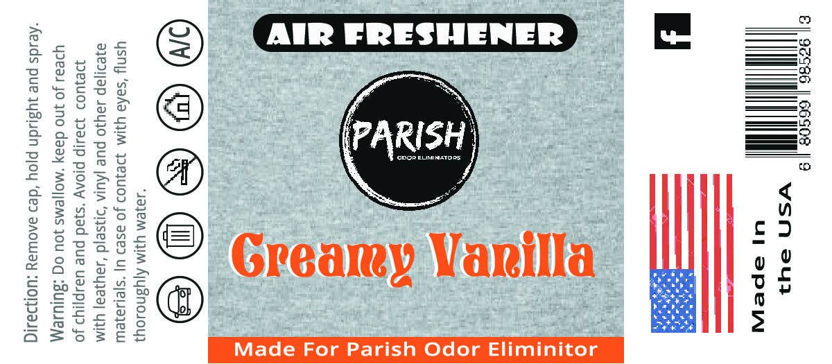 Penyertaan Peraduan #24 untuk new fresh air label design