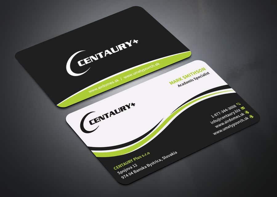 Kilpailutyö #182 kilpailussa Business card design