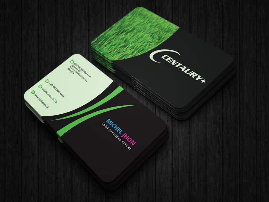 Kilpailutyö #145 kilpailussa Business card design
