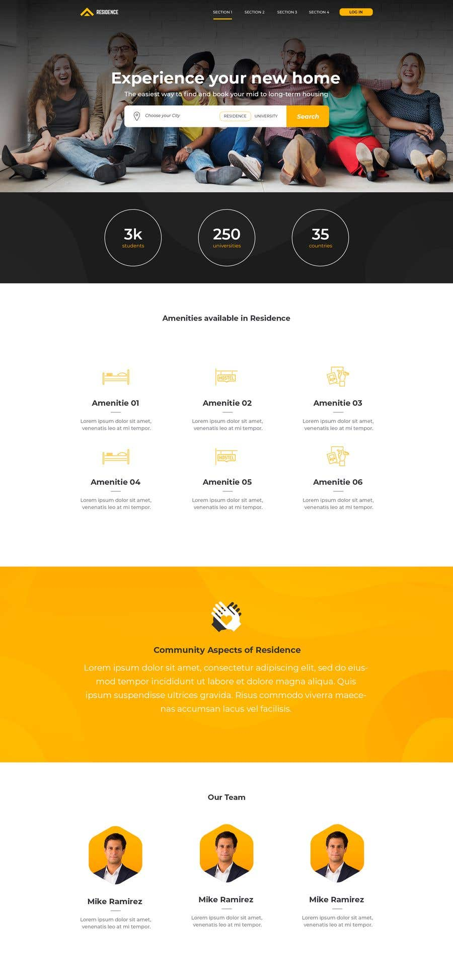 Penyertaan Peraduan #119 untuk Building a 2 pages of Website UI & UX. Best entry to get opportunity for completing 70+ screens UI & UX as well.