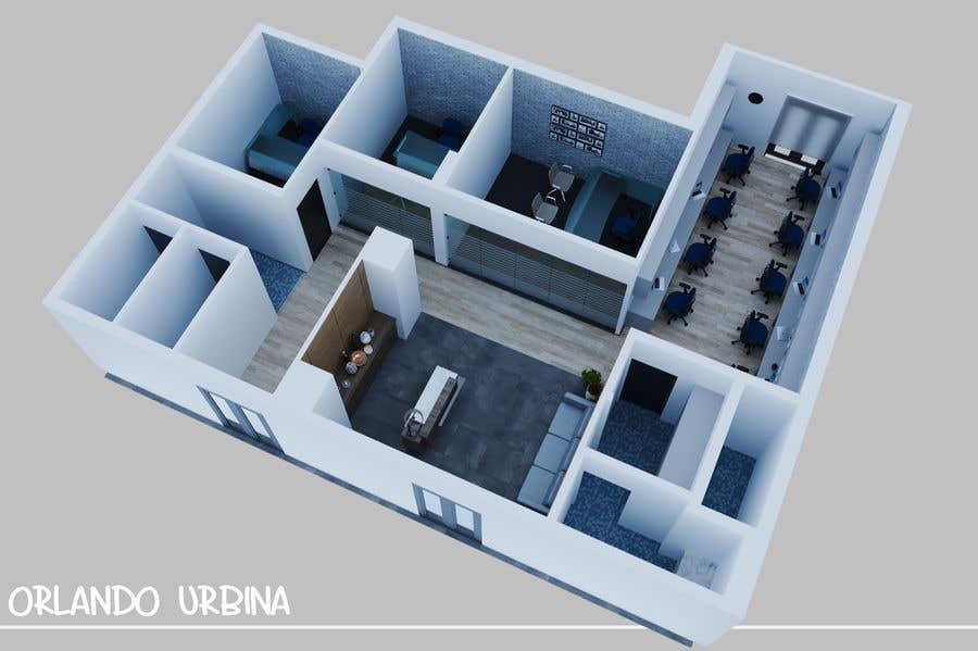 Proposition n°9 du concours interior design for Office