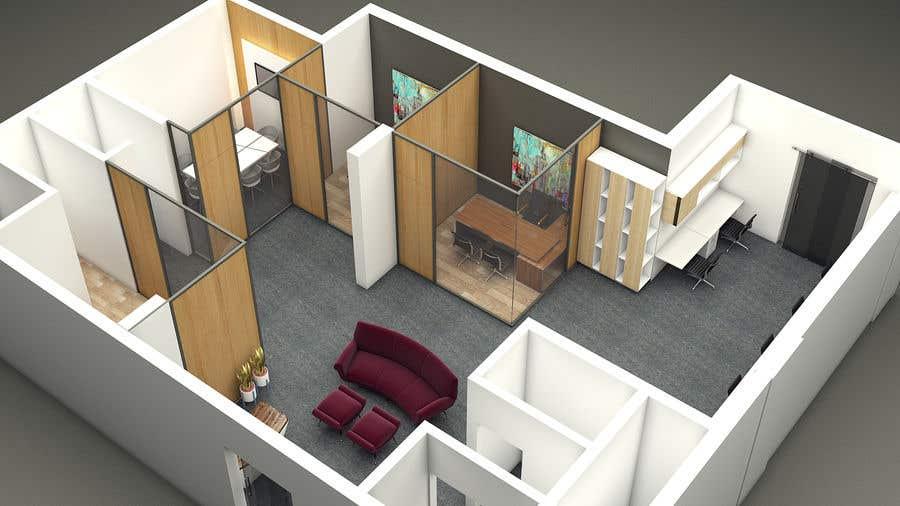 Proposition n°16 du concours interior design for Office