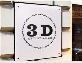singhysk3 tarafından Design a logo for my works. Name is 3D Artist aman. için no 16