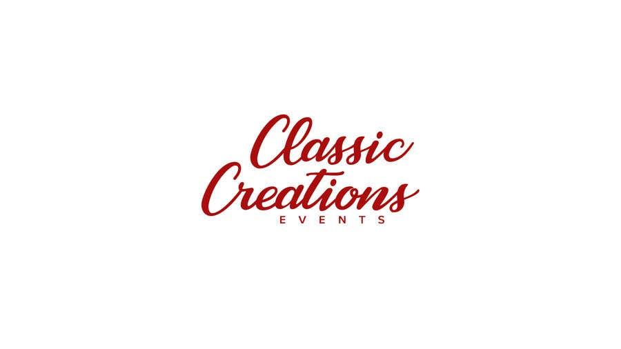 Inscrição nº 62 do Concurso para Classic Creations Events