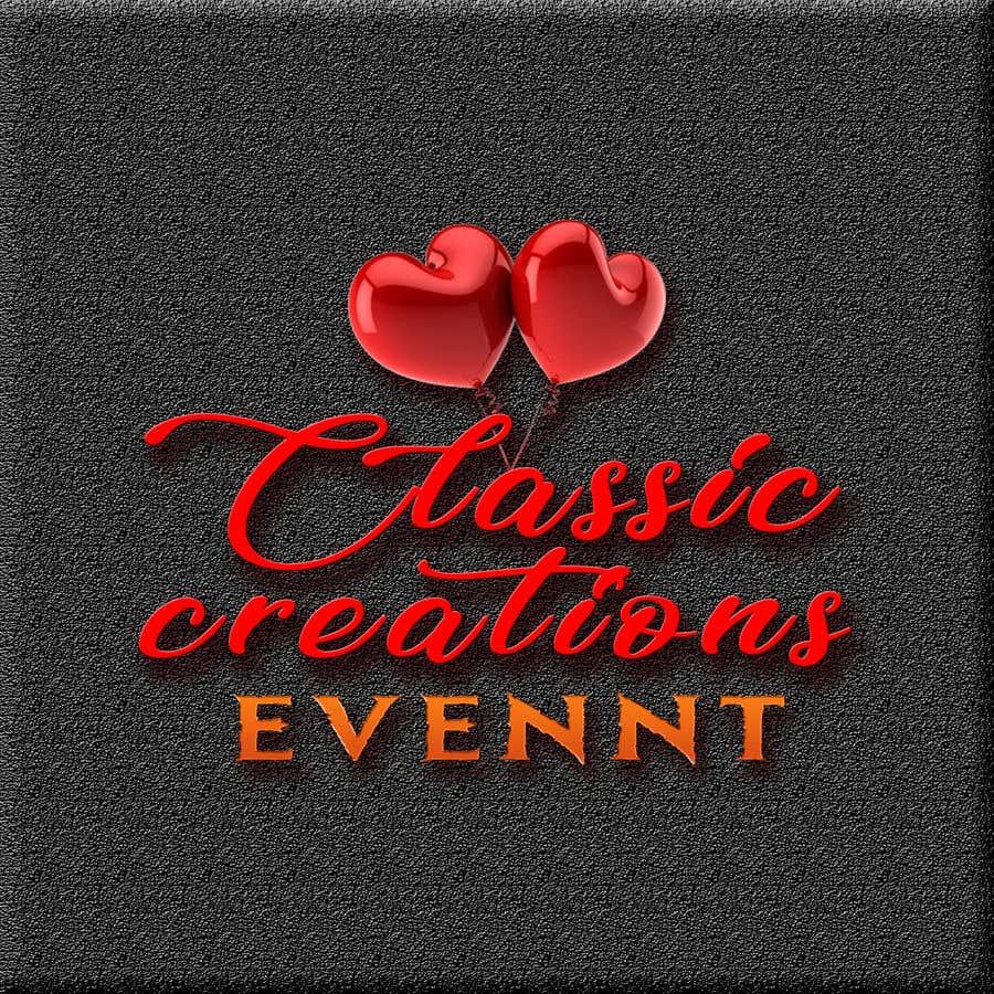 Inscrição nº 61 do Concurso para Classic Creations Events